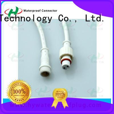 HUA YIN black PVC Waterproof Plug cable for vessel