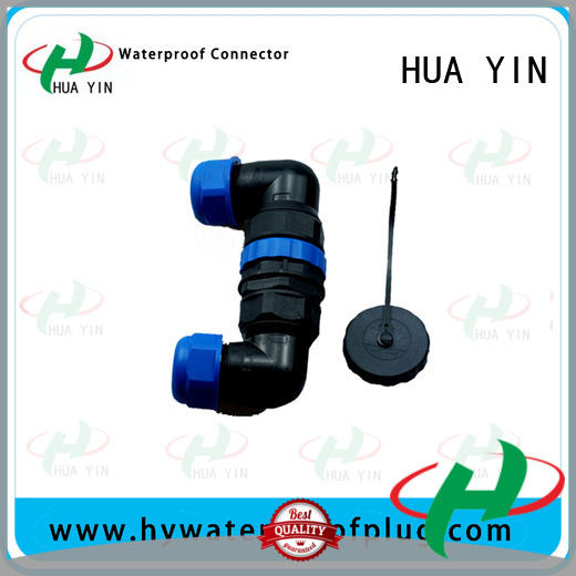 HUA YIN waterproof led connectors with strong pressure resistance for display cabinet