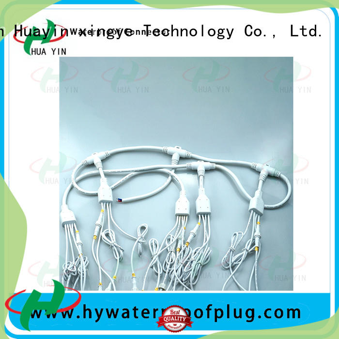 HUA YIN one input pvc y connector maker for cultivation