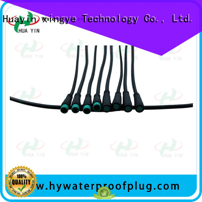 HUA YIN m8 female connector manufacturer for display screen