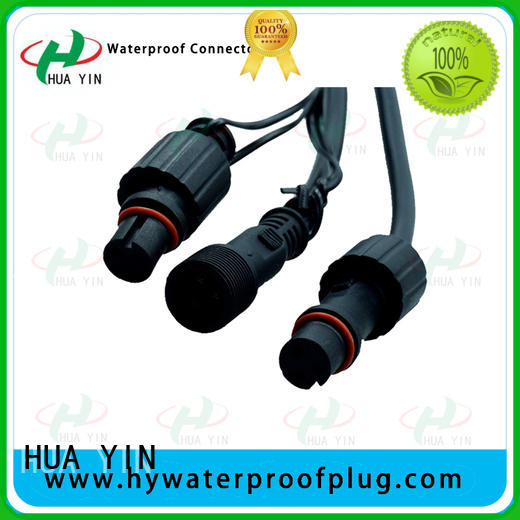 two pin 2 pin waterproof connector plug online for cultivation