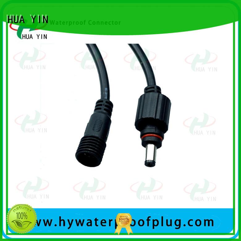 HUA YIN dc connector waterproof manufacturer
