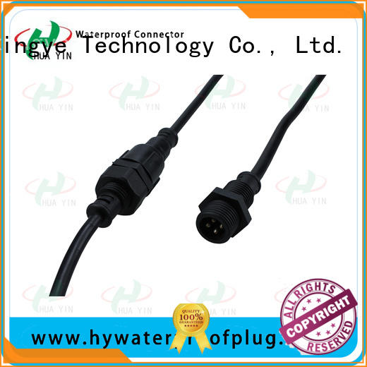 HUA YIN white Panel PVC Waterproof Plug maker for display screen