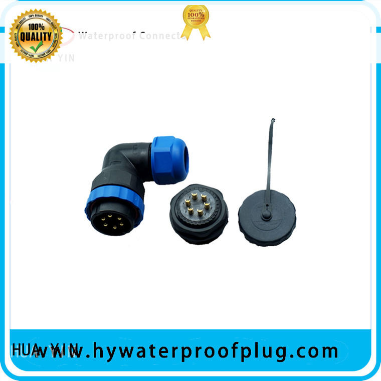 HUA YIN black waterproof connectors wire online
