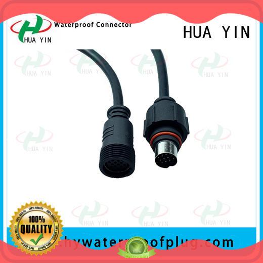 HUA YIN 12v plug connectors cable for display screen