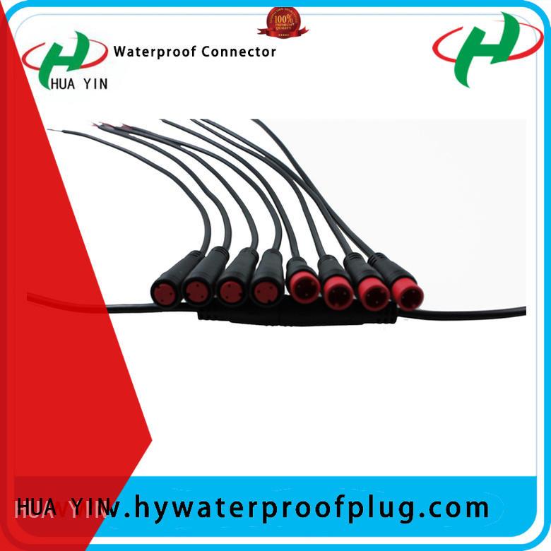 HUA YIN M8 Waterproof Connector manufacturer for display screen