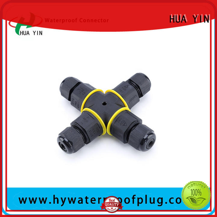 lamp cord with t type outlet line for temporary lighting HUA YIN