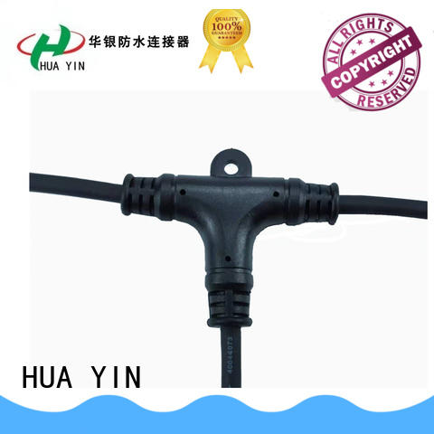 HUA YIN waterproof t connector price fast delivery for cultivation