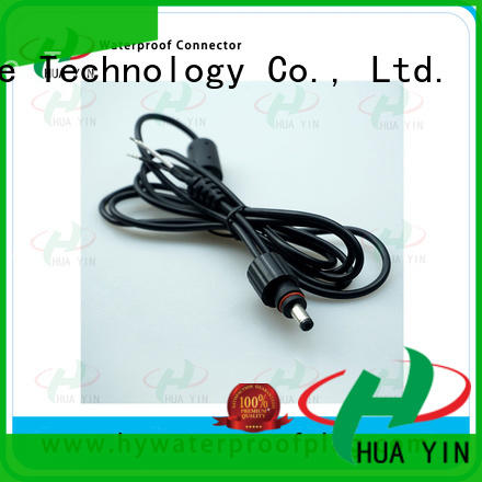 HUA YIN rubber dc connector waterproof buckle for sale