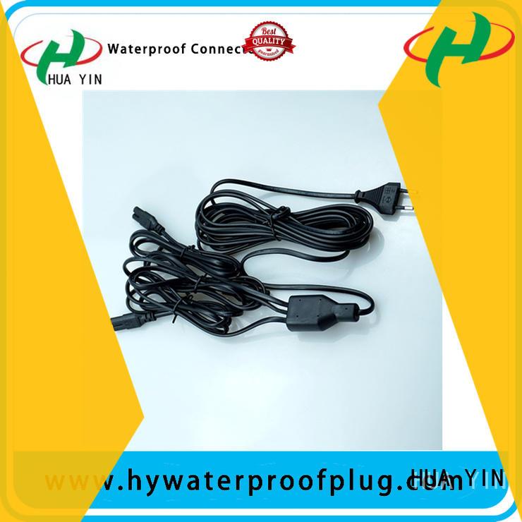 HUA YIN waterproof Y Connector for display screen