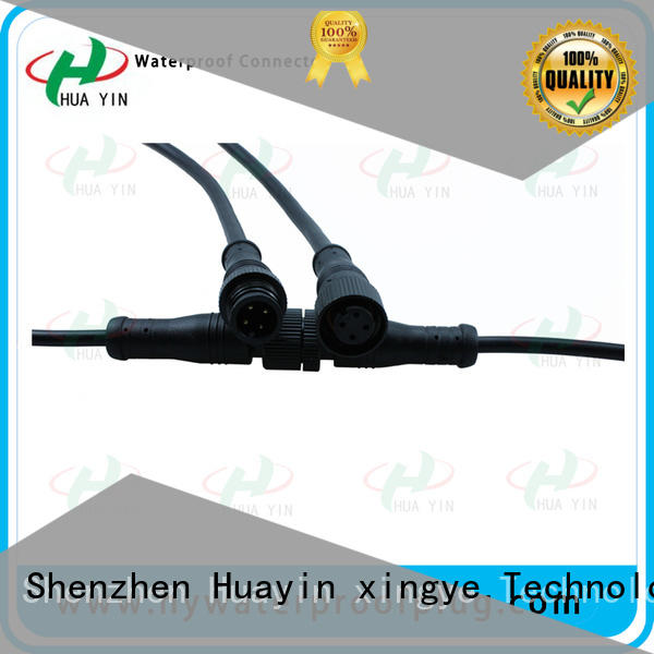HUA YIN two pin watertight electrical plug for vessel