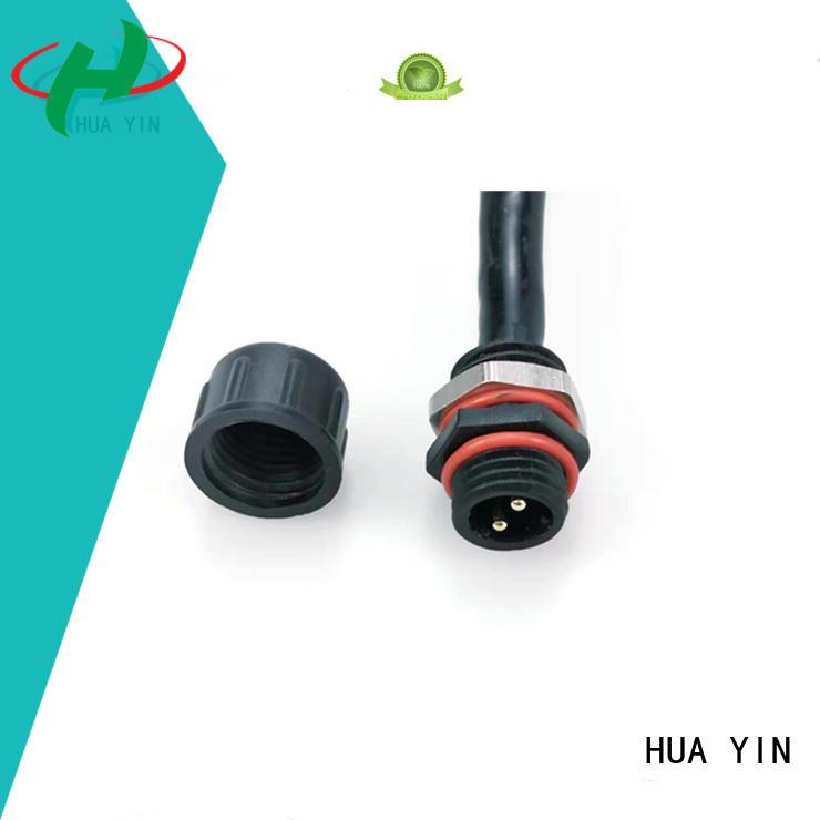 black Panel PVC Waterproof Plug wholesale for floor heating