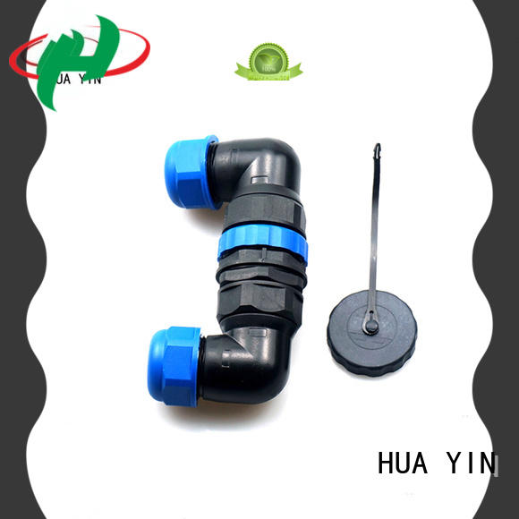HUA YIN nylon t tap connector supplier for display cabinet