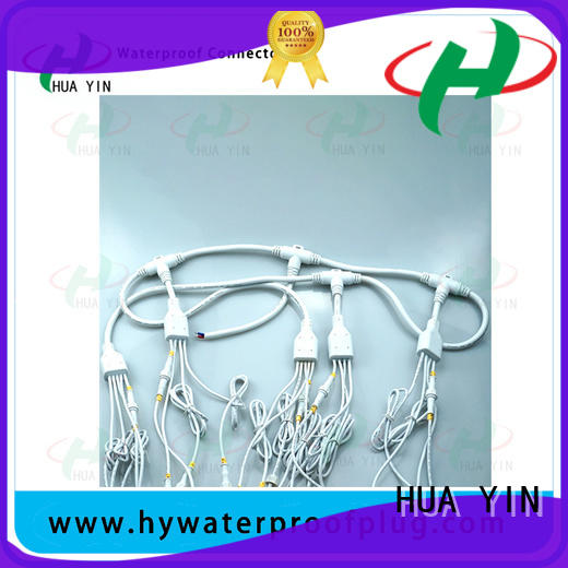 HUA YIN six output y wire connector maker for electronic industry