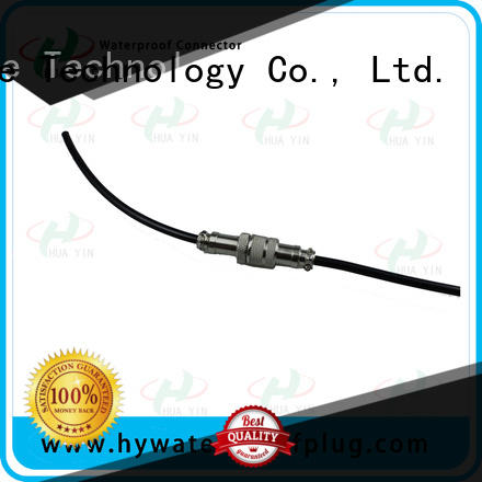 HUA YIN white Aviation Connector manufacturer for automation