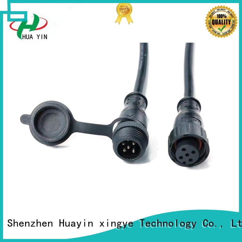 HUA YIN PVC Waterproof Plug wholesale for electronic industry