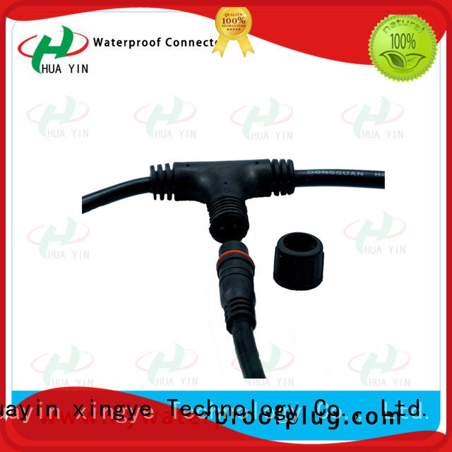 HUA YIN tee connector maker for electronic industry