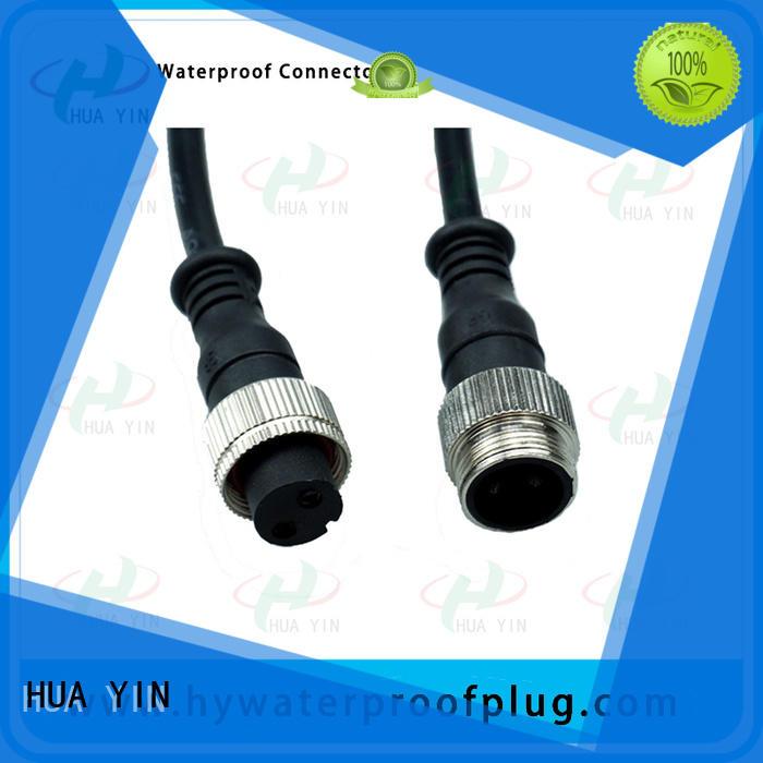 HUA YIN waterproof electrical plug manufacturer for laser