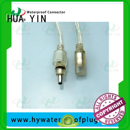 female waterproof dc power connector joints
