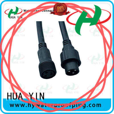 HUA YIN waterproof plug cable for laser