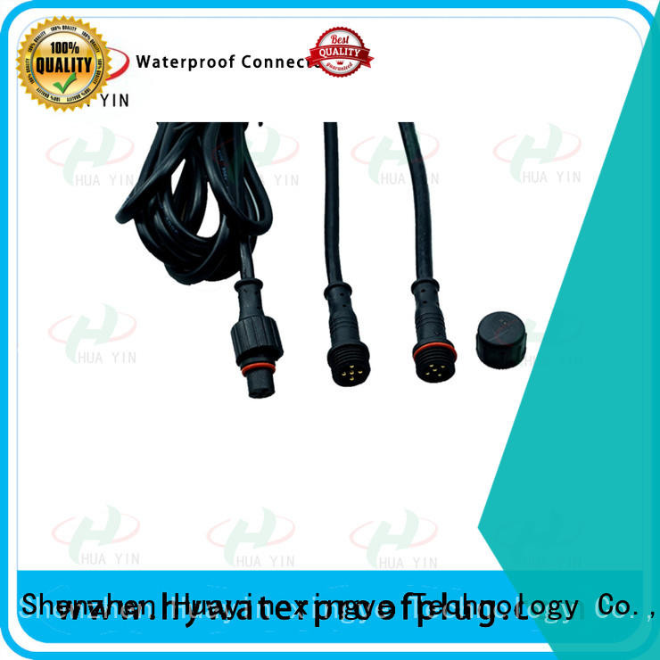 transparency 12 volt 2 wire waterproof plug wholesale for display screen
