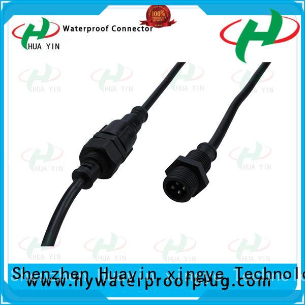HUA YIN Panel PVC Waterproof Plug wholesale for floor heating