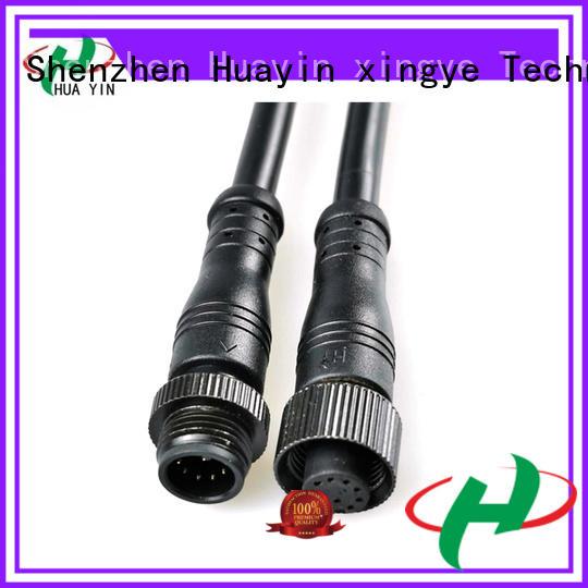 HUA YIN two pin waterproof electrical plug wholesale for electronic industry