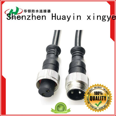 HUA YIN four pin waterproof electrical plug supplier for cultivation