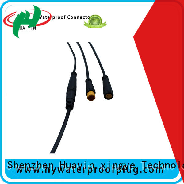 HUA YIN two pin pico m8 connector manufacturer for floor heating