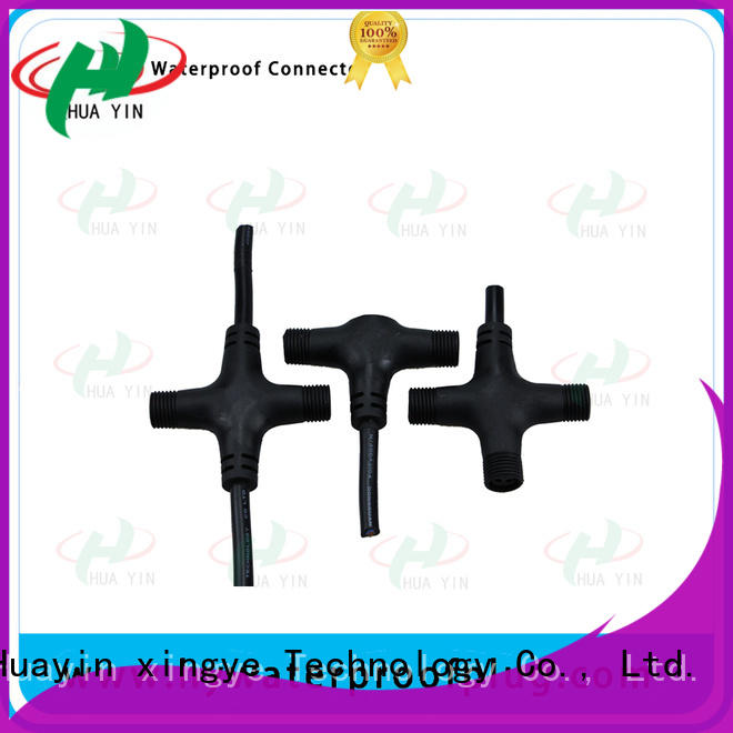 HUA YIN lighting tee connector supplier for electronic industry