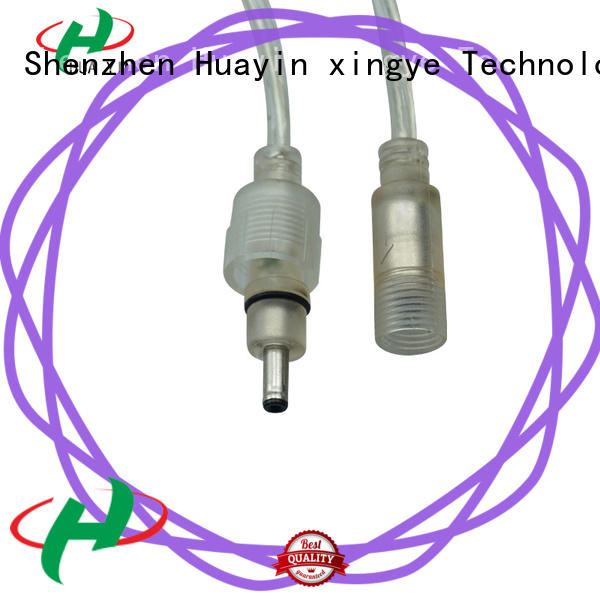 HUA YIN waterproof dc connector manufacturer for solar power agricultural machinery