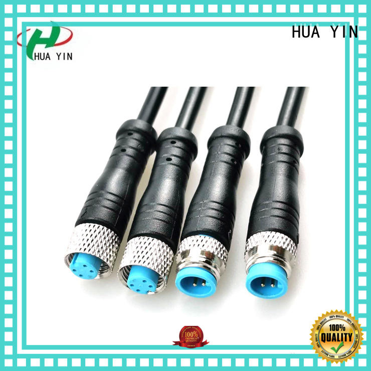 flat m8 4 pin connector supplier for floor heating