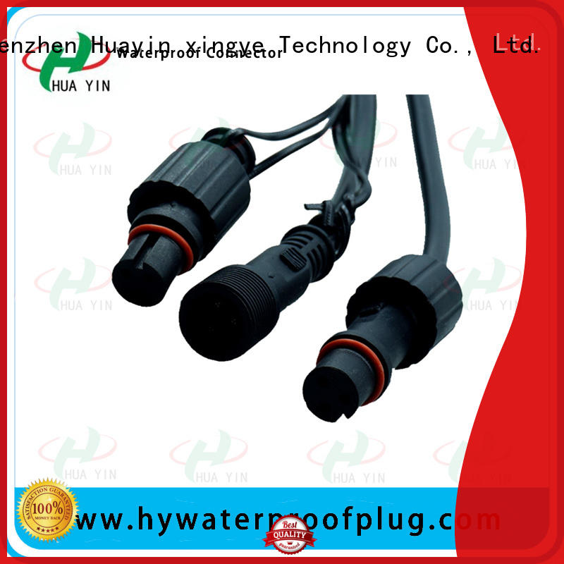 quick connect electrical plug cable for electronic industry HUA YIN