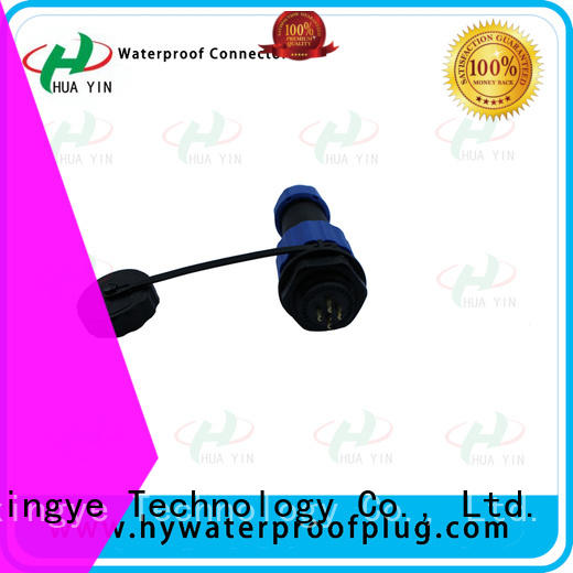HUA YIN copper waterproof cable connector with high temperature resistant to prevent waterline