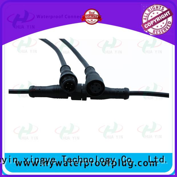 waterproof electrical plug for led HUA YIN