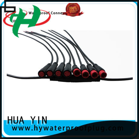 six pin m12 8 pole connector manufacturer for led