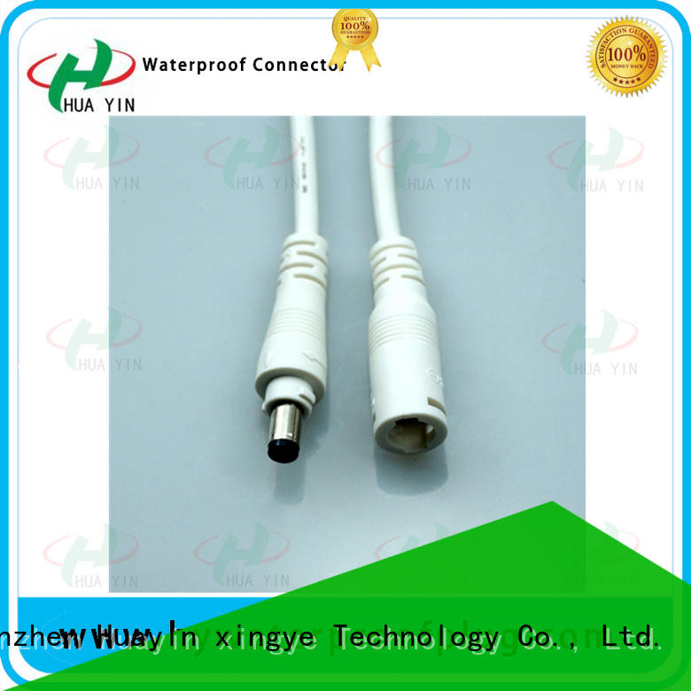 HUA YIN black dc power cable supplier for solar power agricultural machinery