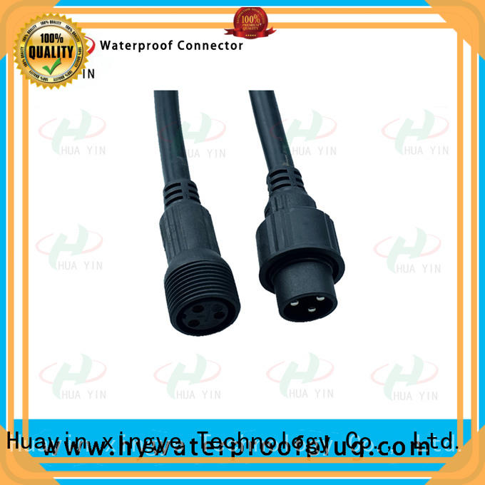 HUA YIN waterproof 12v plug cable for cultivation