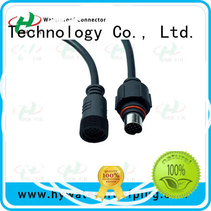 waterproof 12v plug online for led HUA YIN