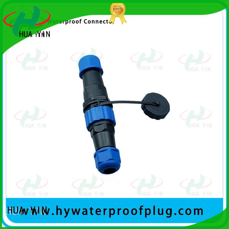 outdoor waterproof connector plug line to air plug HUA YIN