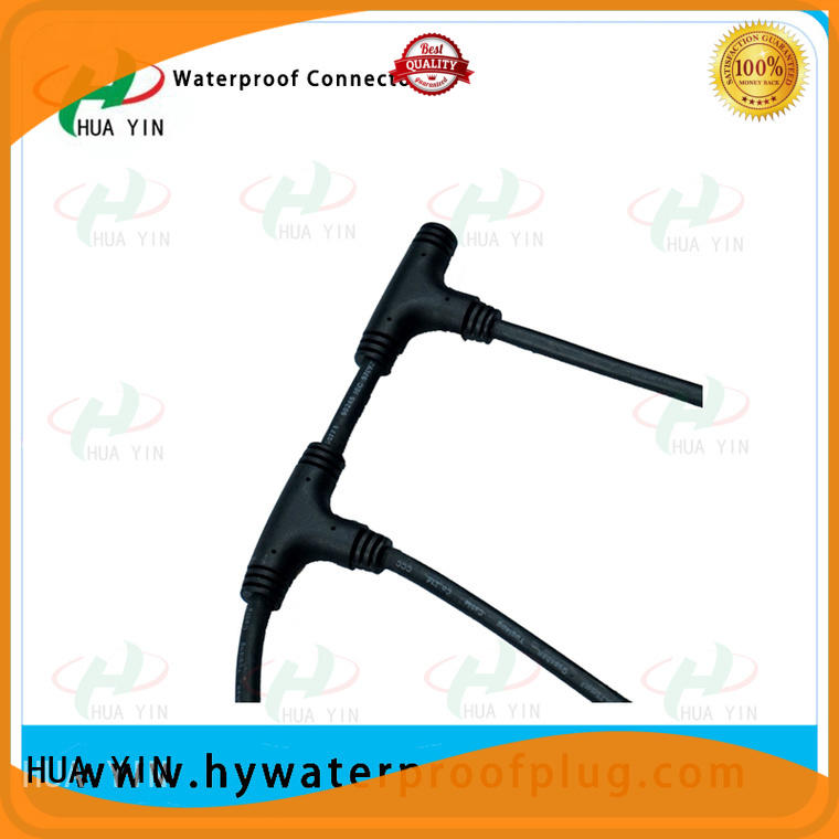 HUA YIN waterproof copper t connector supplier for cultivation