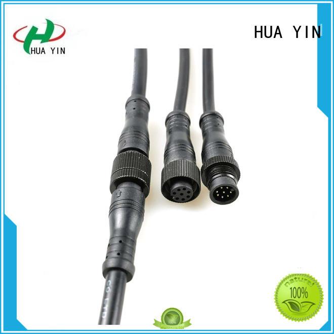 HUA YIN three pin waterproof plug supplier for vessel