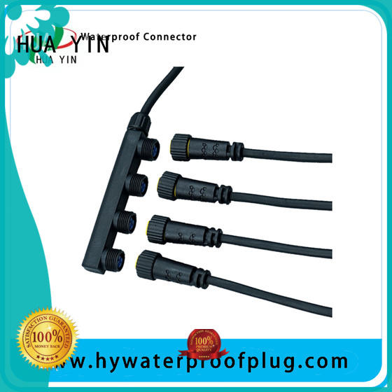 four pin rf connector distributor with gold plated for electric bike HUA YIN