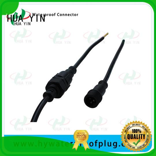 Panel PVC Waterproof Plug suipplier for display screen HUA YIN