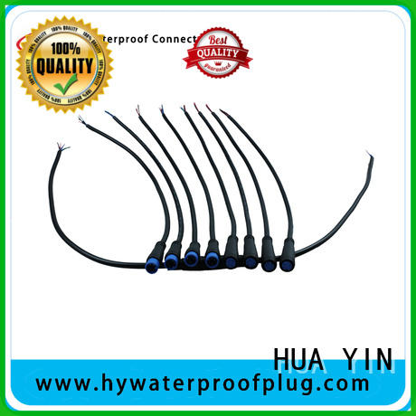 HUA YIN m8 5 pin connector wholesale for display screen