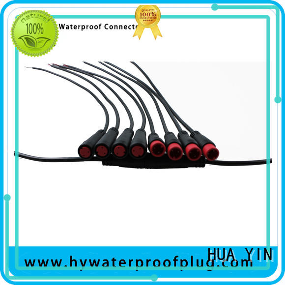 HUA YIN four pin m8 connector cable supplier for display screen