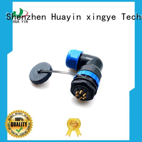 HUA YIN black waterproof led connectors wire online