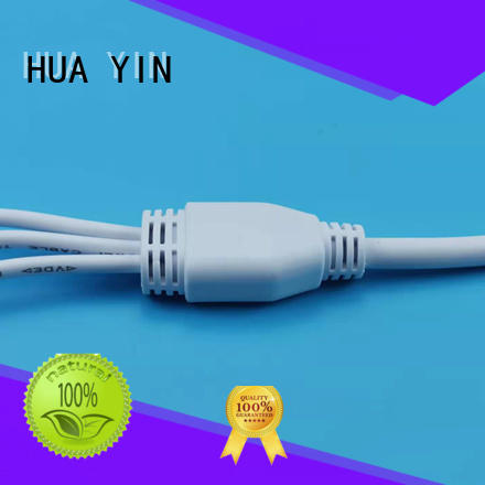 six output y wire connector plug for display screen