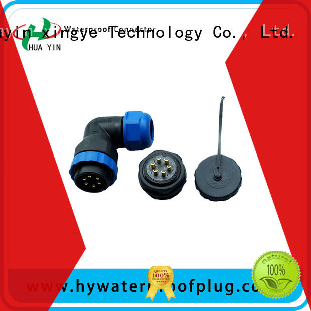 HUA YIN nylon waterproof connectors with strong pressure resistance for sale