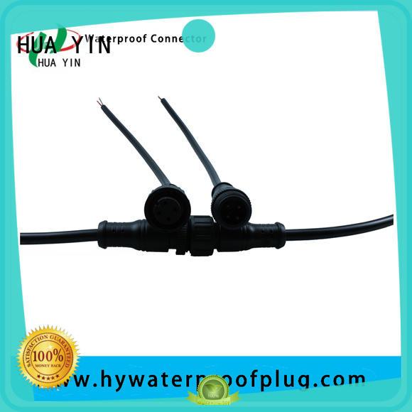 HUA YIN four pin waterproof plug manufacturer for cultivation